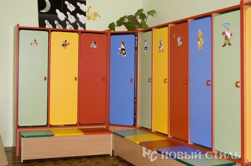 Детский шкафчик в садик 113